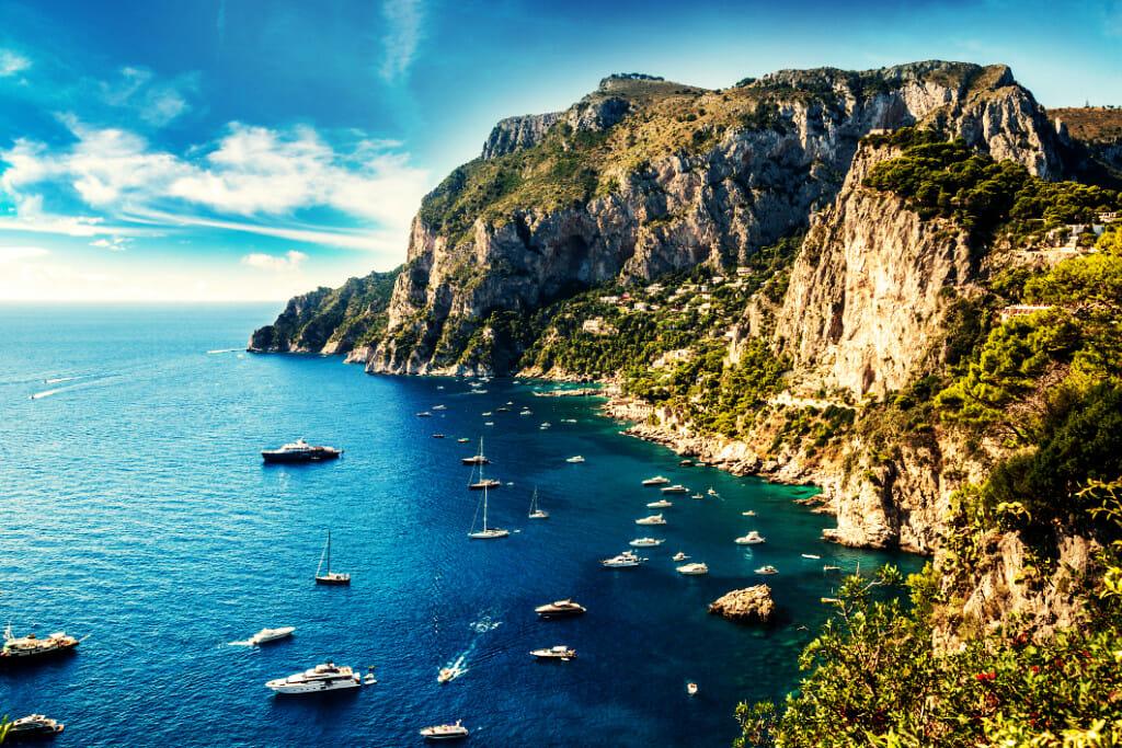 sailing capri
