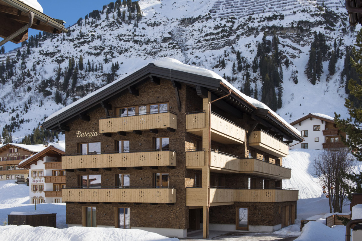 Exterior of Apartment Balegia and proximity to the piste in Lech