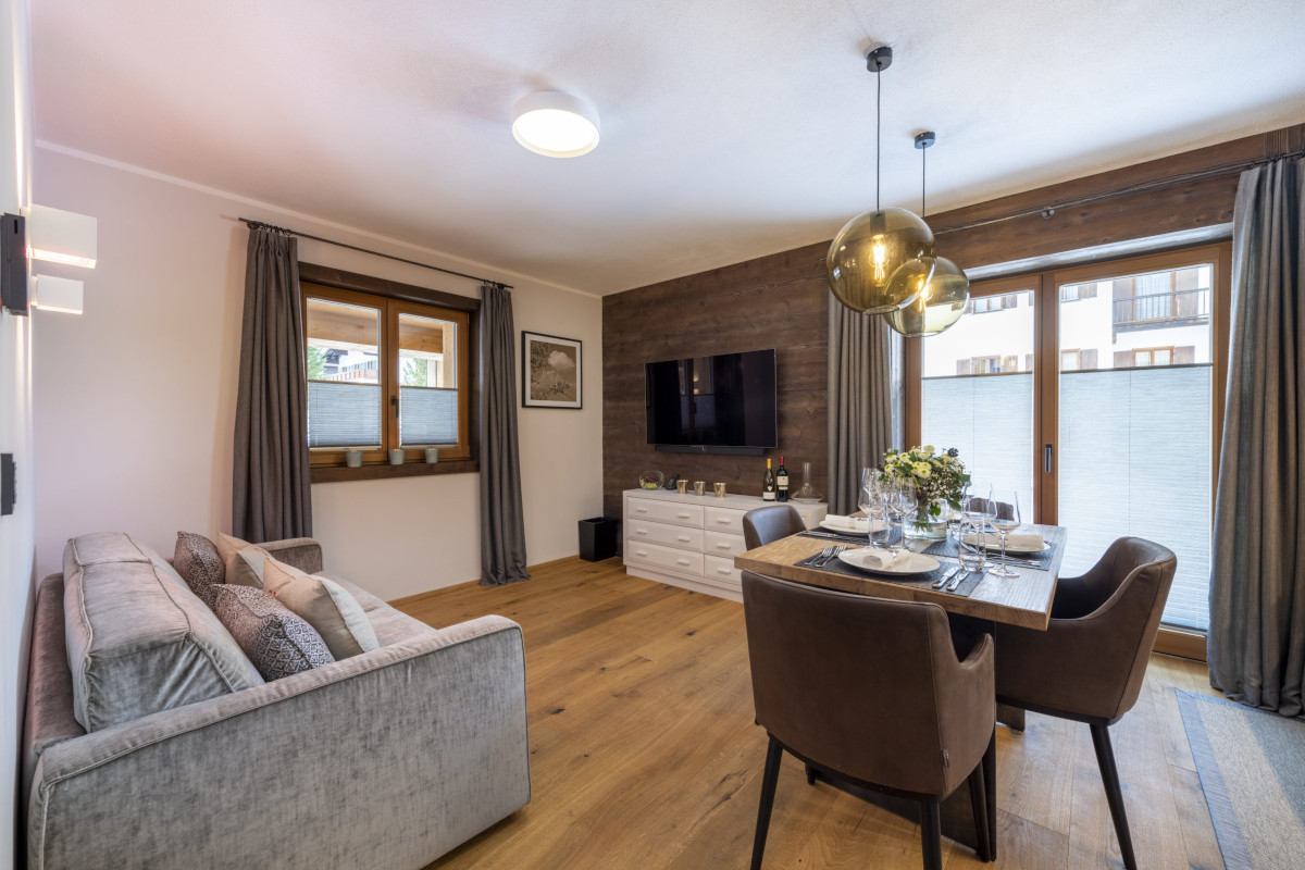 Lounge suite in Living area at Apartment Balegia in Lech