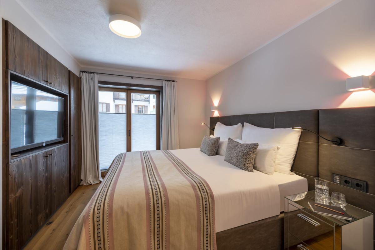 Master bedroom of Apartment Balegia in Lech