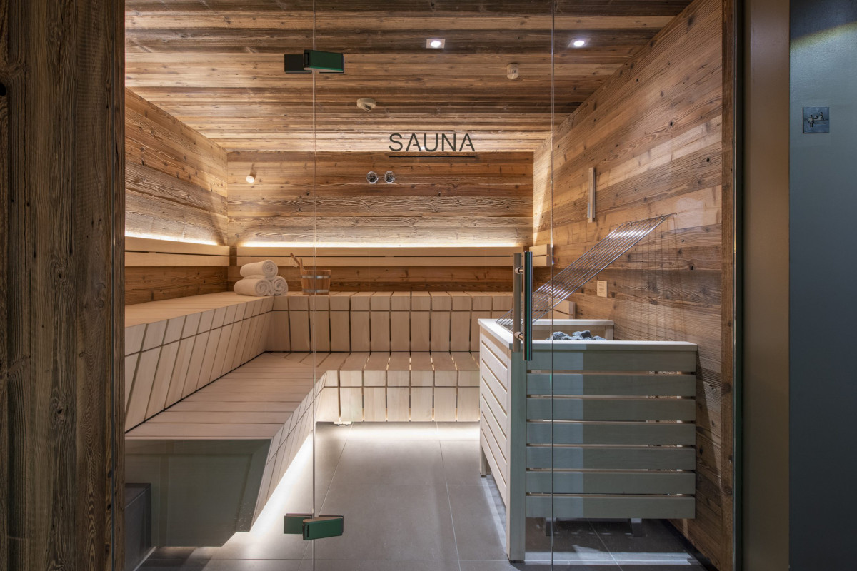 Spa and sauna at Apartment Brunnenhof 1 in Lech