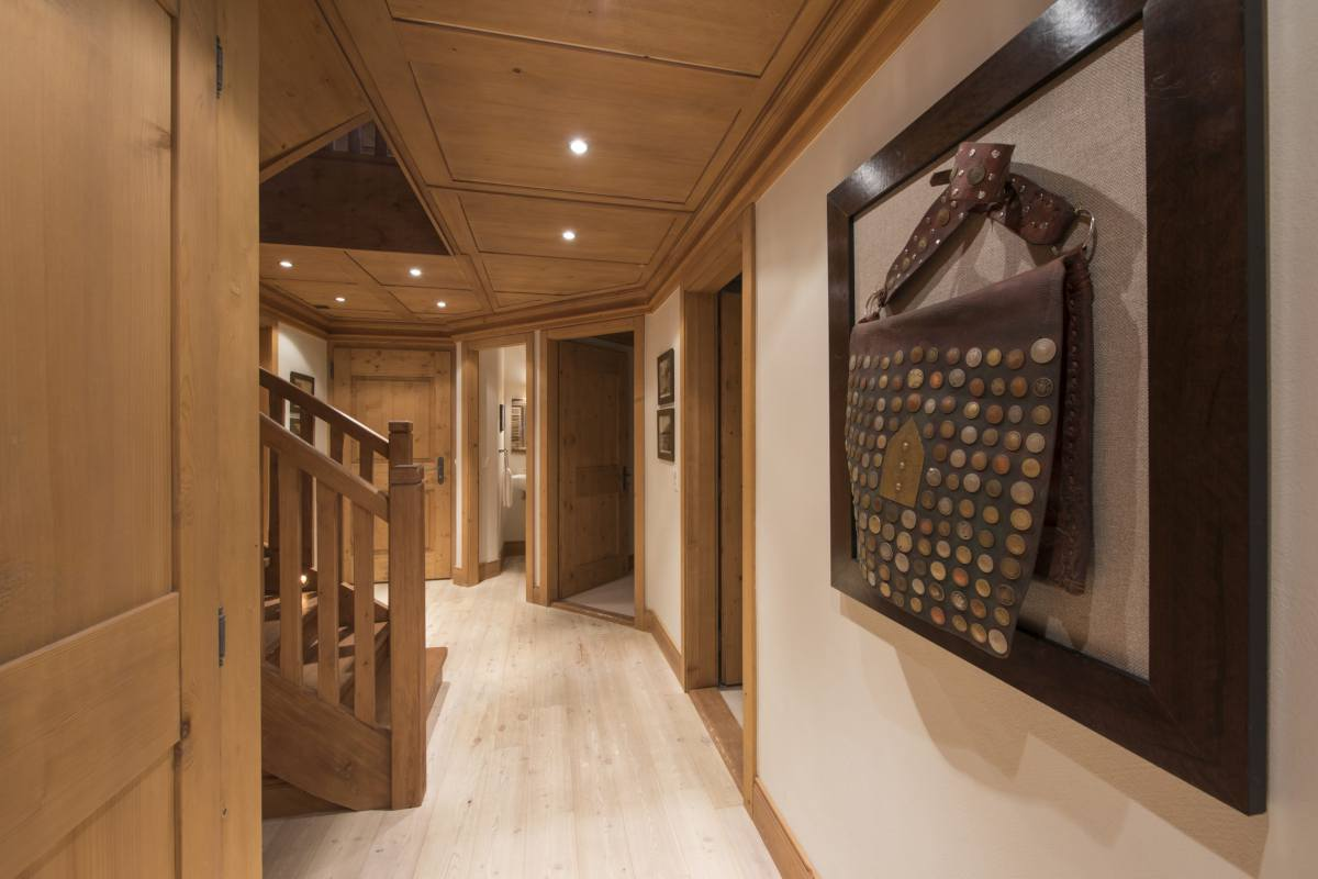 Entrance hallway at Apartment Ivouette in Verbier