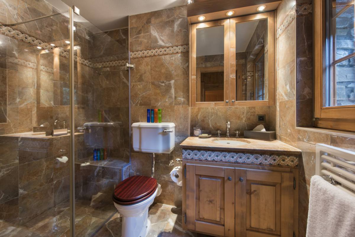 Guest WC at Apartment Ivouette in Verbier