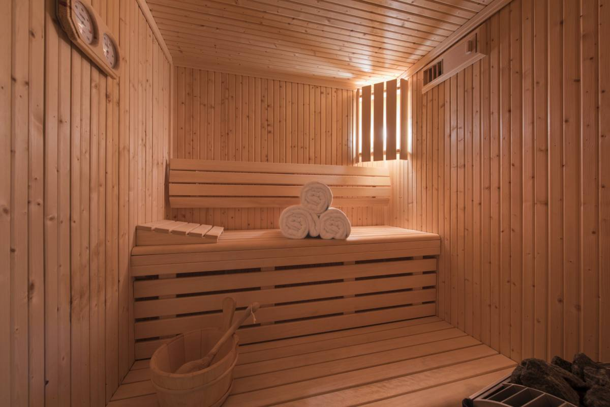 Sauna at Apartment Ivouette in Verbier