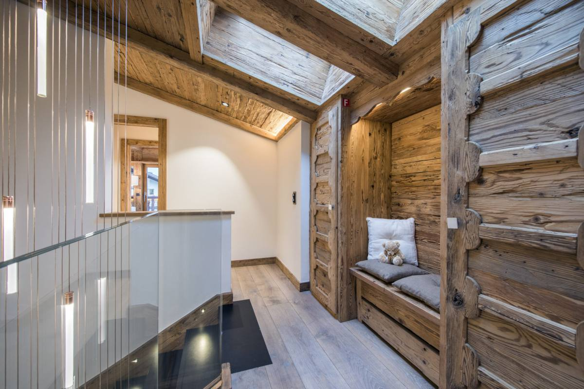 Hallway at Chalet La Datcha in Verbier