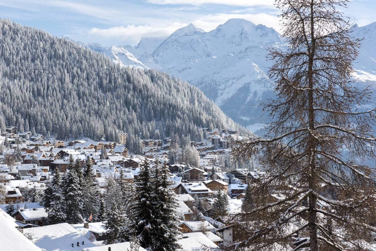 Mountain views from No. 14 Verbier
