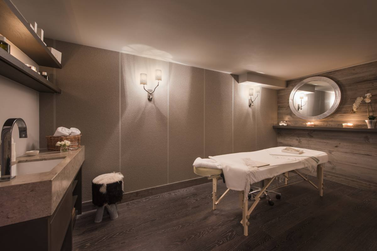 Sap with massage room at No. 14 Verbier