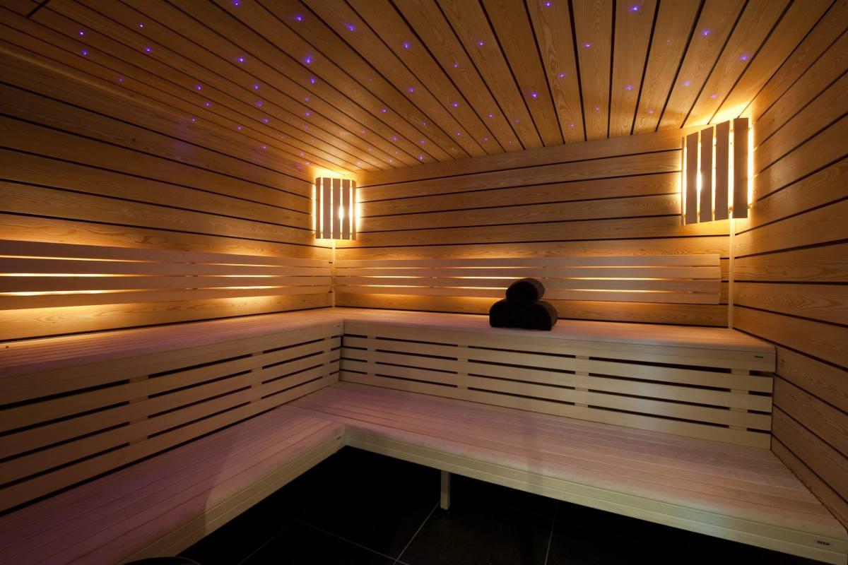 Sauna at Chalet Norte in Verbier