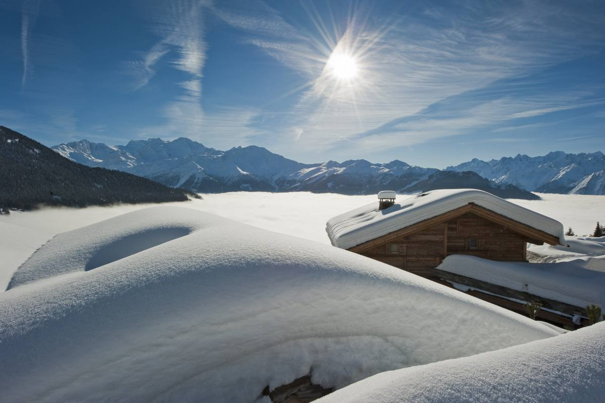 Spectacular views from The Alpine Estate in Verbier