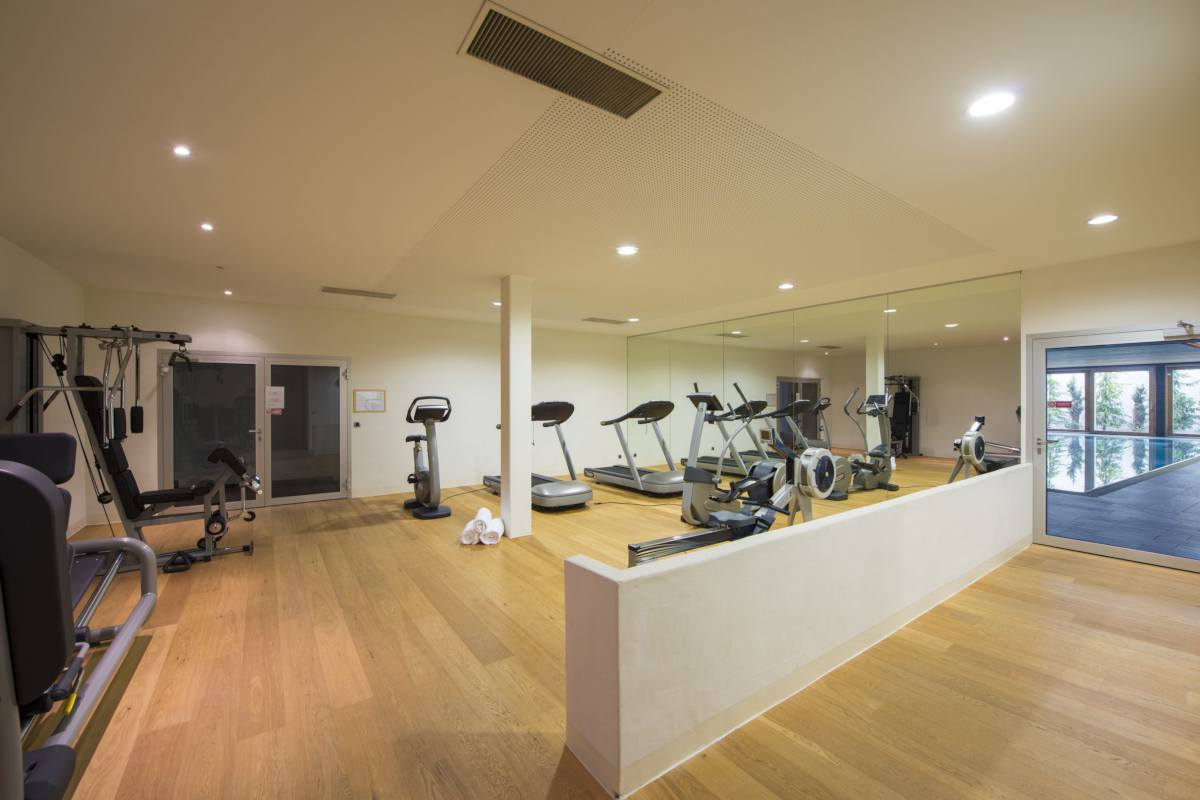 Shared gym at Apartment Victoria 111 in Verbier