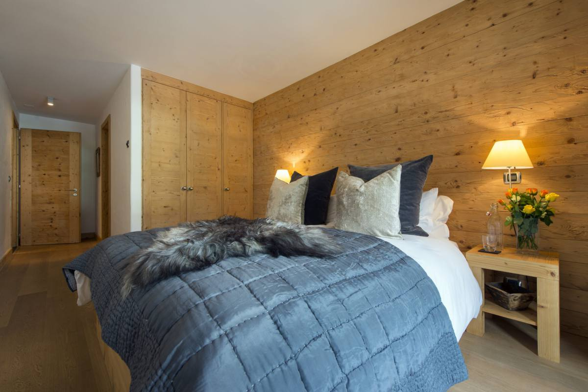 Double bedroom at Apartment Victoria 111 in Verbier