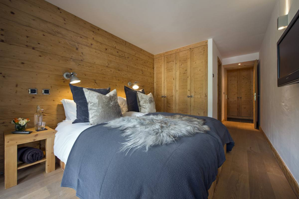Double/twin bedroom at Apartment Victoria 111 in Verbier