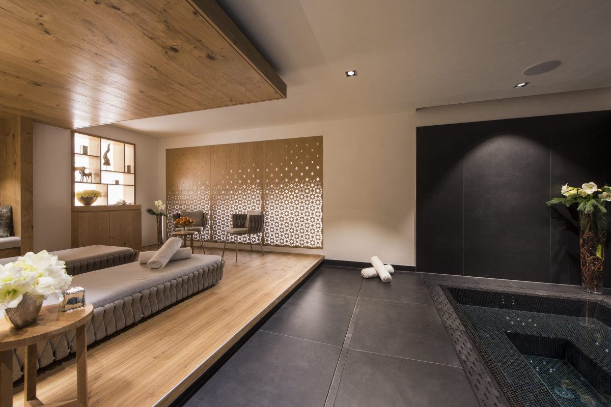 Spa and relaxation at Chalet Aconcagua in Zermatt