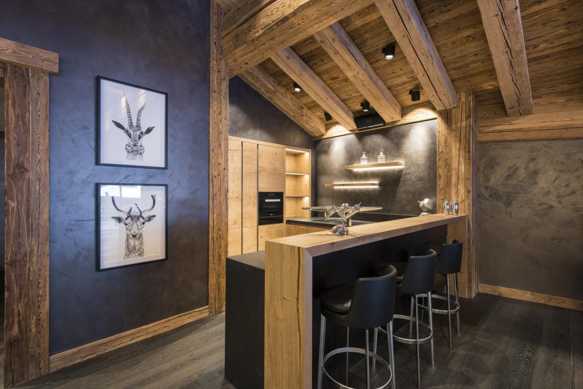 Bar at Chalet Aconcagua in Zermatt