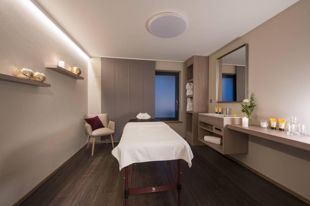 Massage room at Christiania Apartment 5 in Zermatt