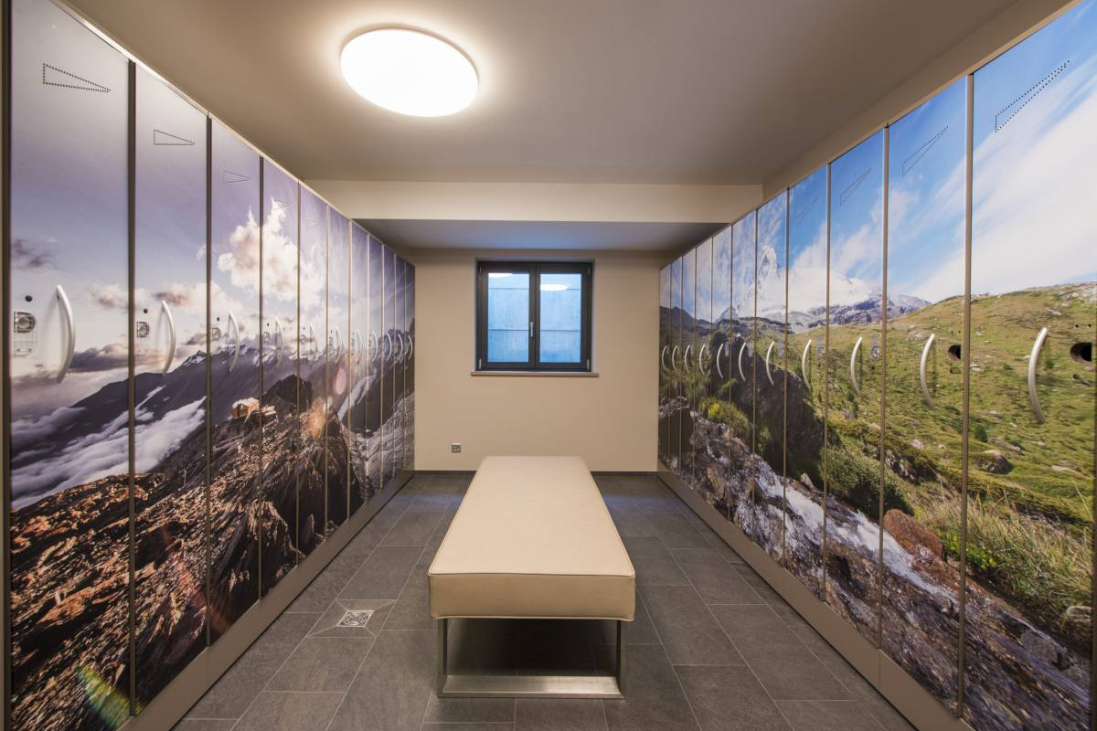 Ski room at Christiania Apartment 5 in Zermatt