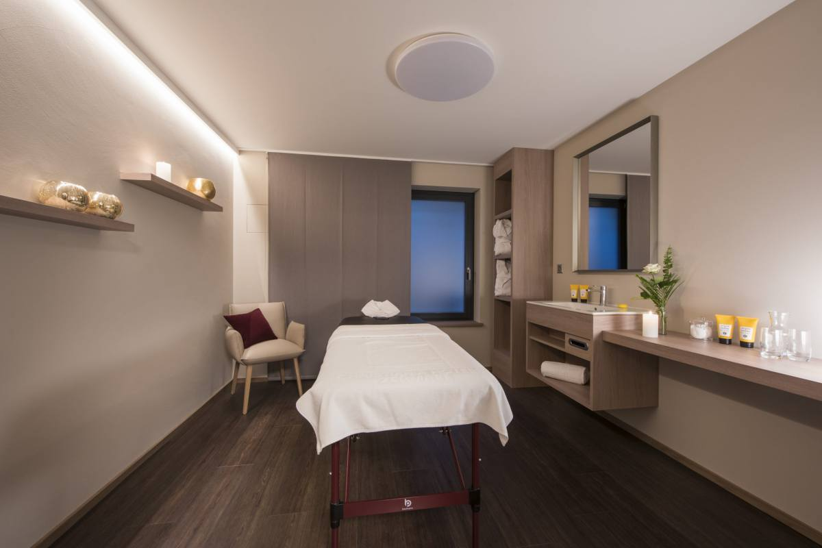 Massage room at Christiania Penthouse in Zermatt