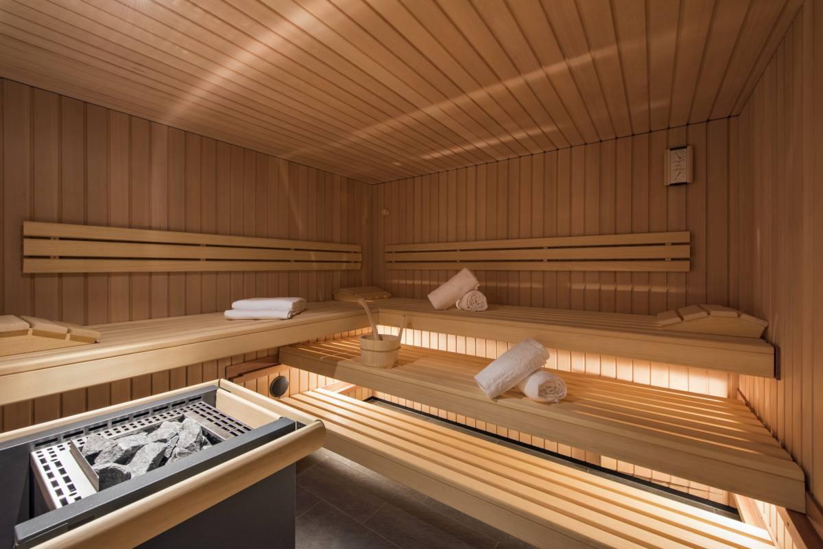 Private sauna in Christiania Penthouse in Zermatt