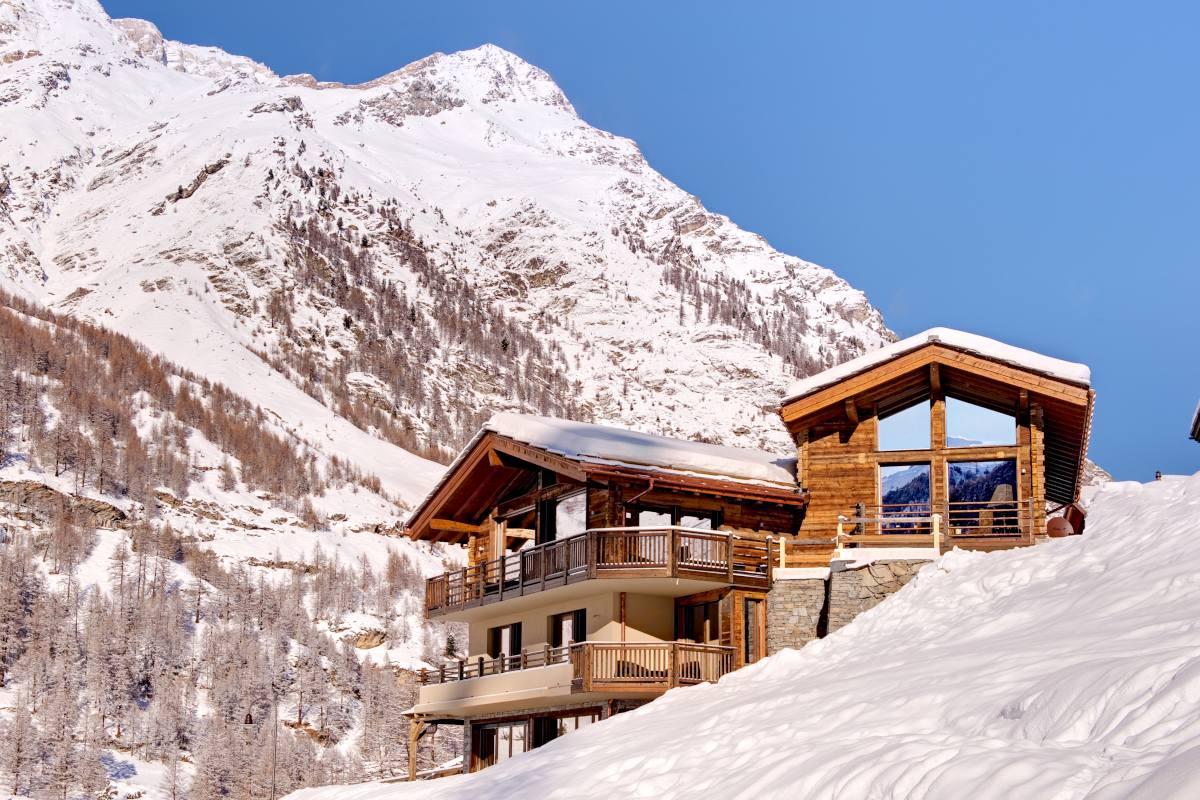 Exterior view of Chalet Grace in Zermatt