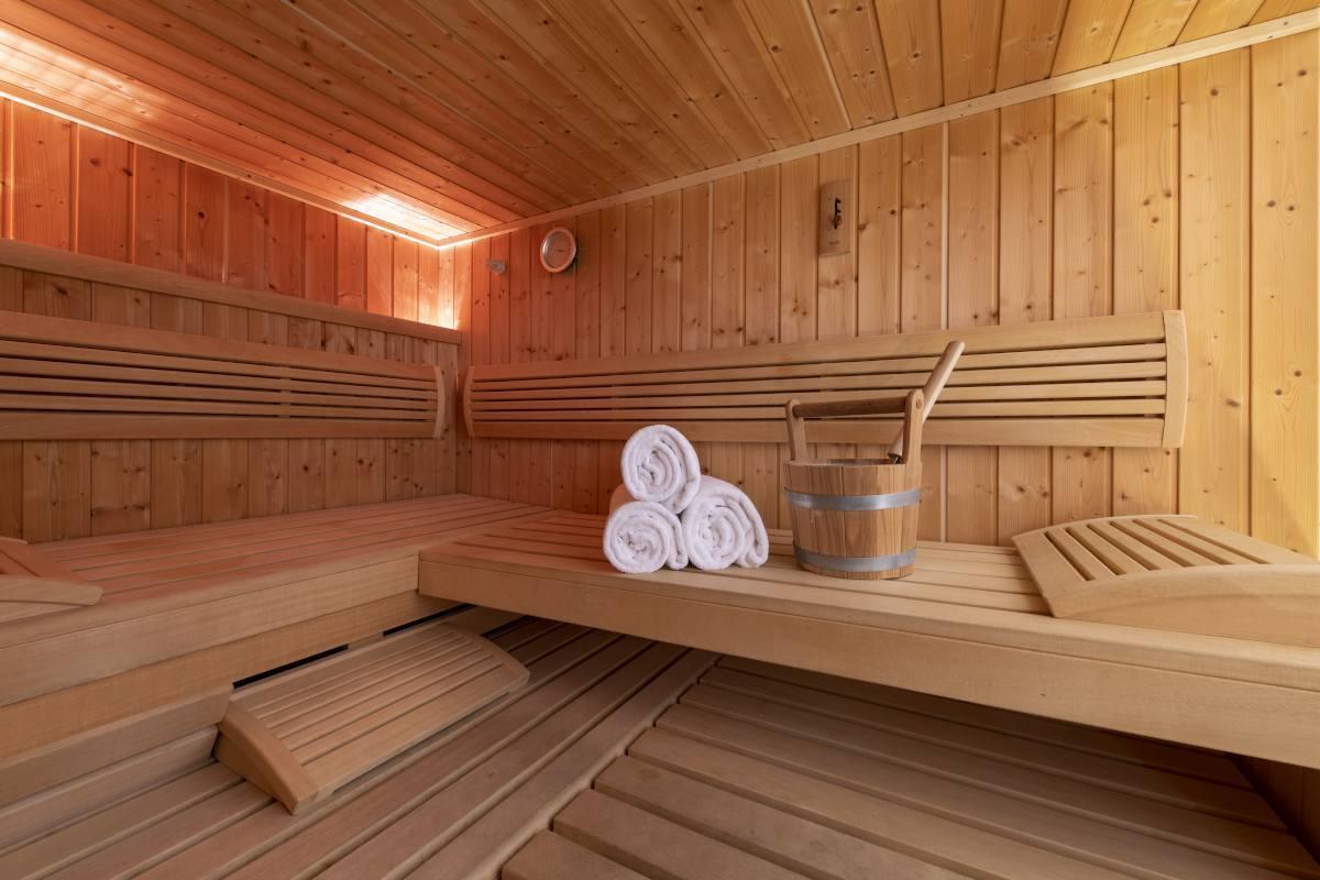 Sauna at Chalet Grace in Zermatt