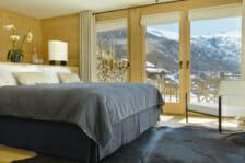 Charming King size bedroom Chalet Maurice, Zermatt