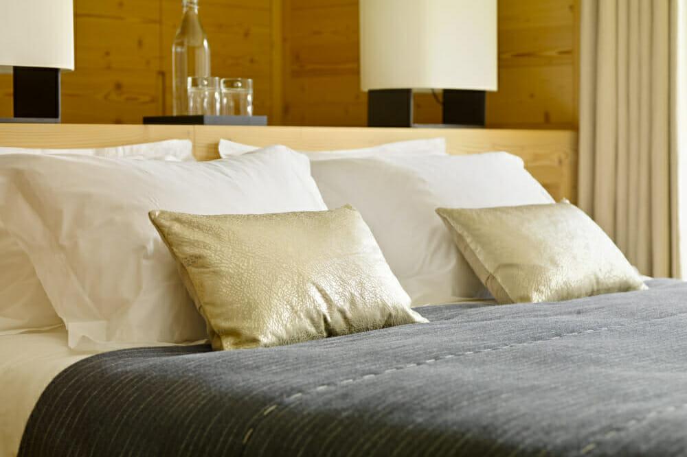 Luxurious bedding Chalet Maurice, Zermatt