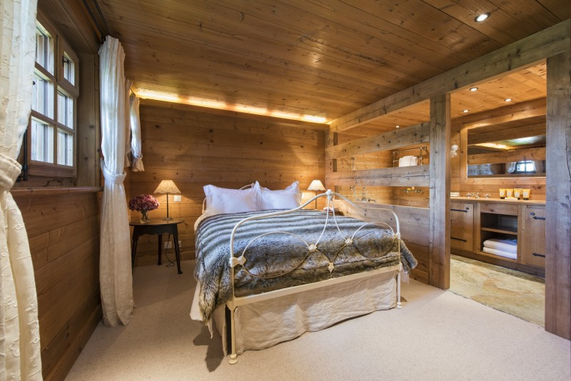 Chalet Le Ti bedroom