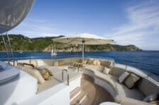 Motor Yacht Utopia- outdoor relaxation spaces - Mediterranean