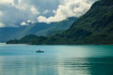 Cruising in Alaska in Super Yacht.