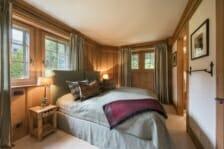King bedroom Chalet Ivouette, Verbier