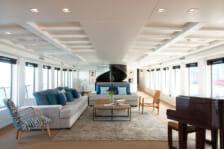 Motor Yacht Menorca- interior living - Ibiza
