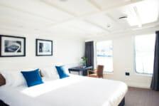 Motor Yacht Menorca- Master bedroom- Ibiza
