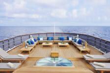 Motor Yacht Menorca- deck relaxati