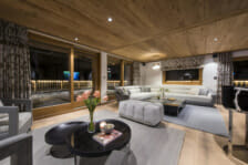 Chalet La Datcha- living areas- Verbier, Switzerland