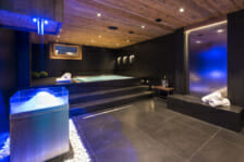 Luxury Spa in Chalet La Datcha, Verbier.