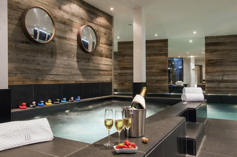 The Verbier Lodge - hot tub - Verbier, Switzerland