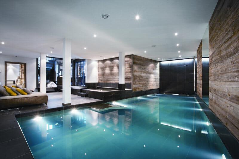 The Verbier Lodge- swimming pool- Verbier, Switzerland