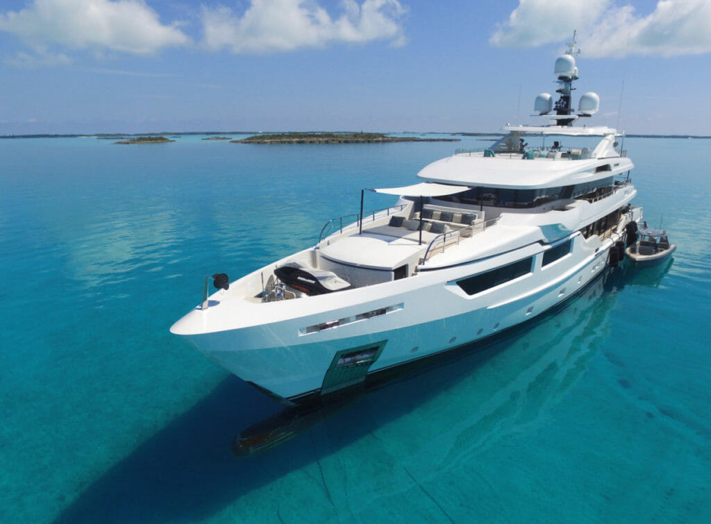 Cruising the Bahamas, with less than an hour flight from