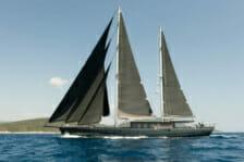 Motor Yacht Rox Star- underway, running- Mediterranean