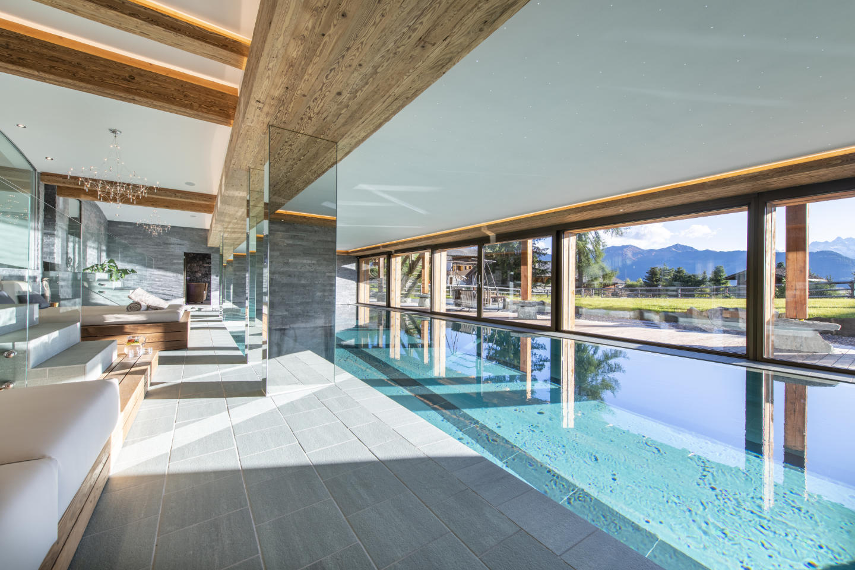 chalet pool