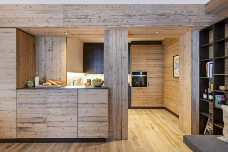 apartment 1 Brunnenhof-kitchen-lech