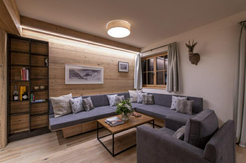 Apartment 1 Brunnenhof- lounge-Lech