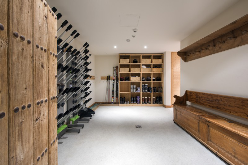 Chale Orsini- boot room - Verbier