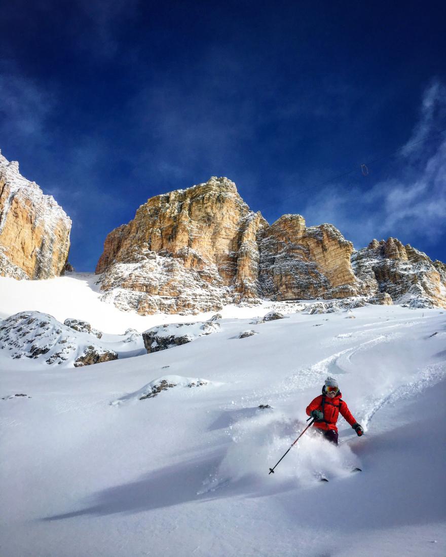 Skiing -The Alps- Guide-Caroline -George